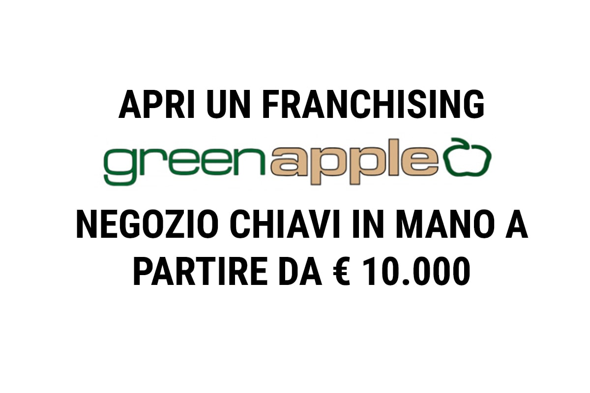 FRANCHISING - APRI UN NEGOZIO GREEN APPLE