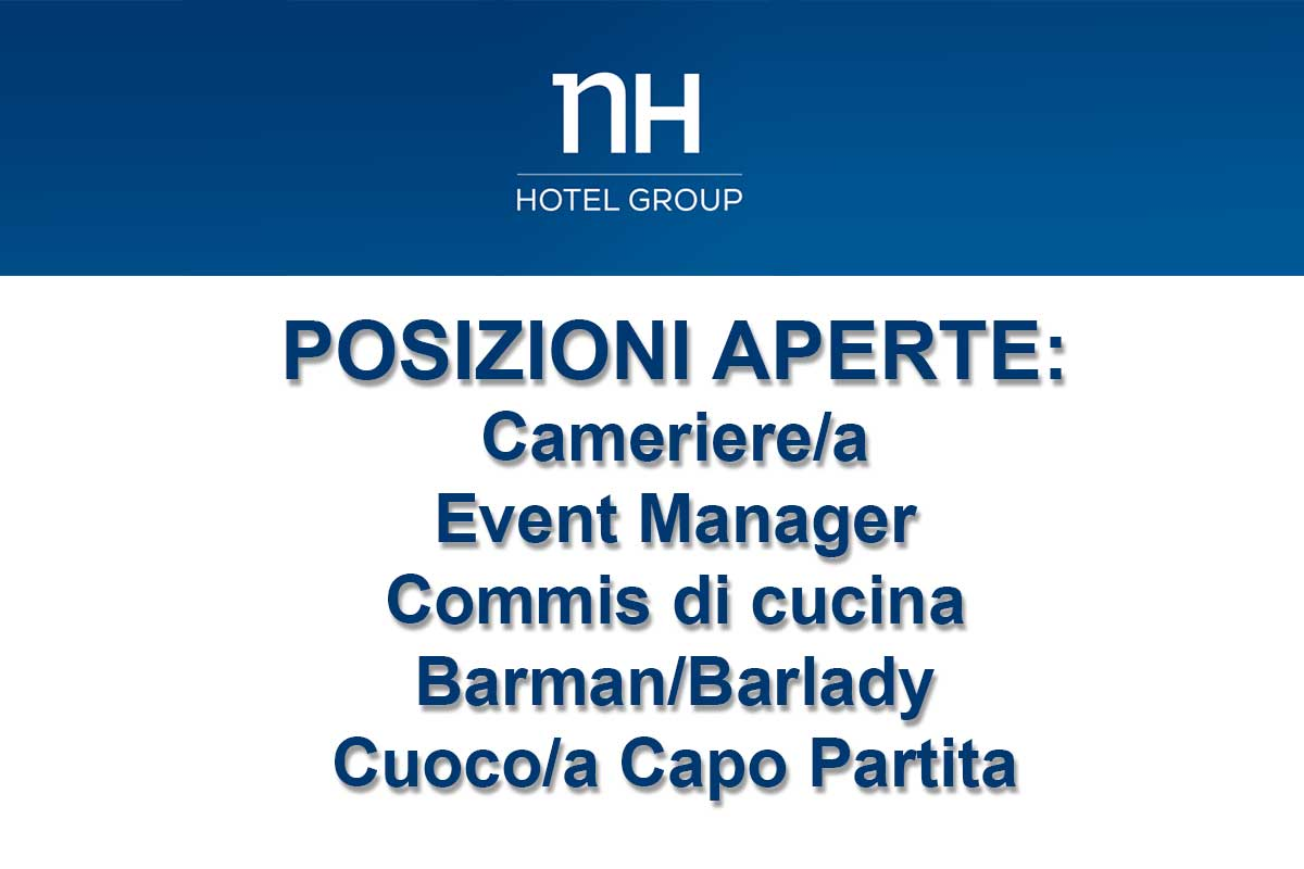 NH GROUP RICERCA PERSONALE
