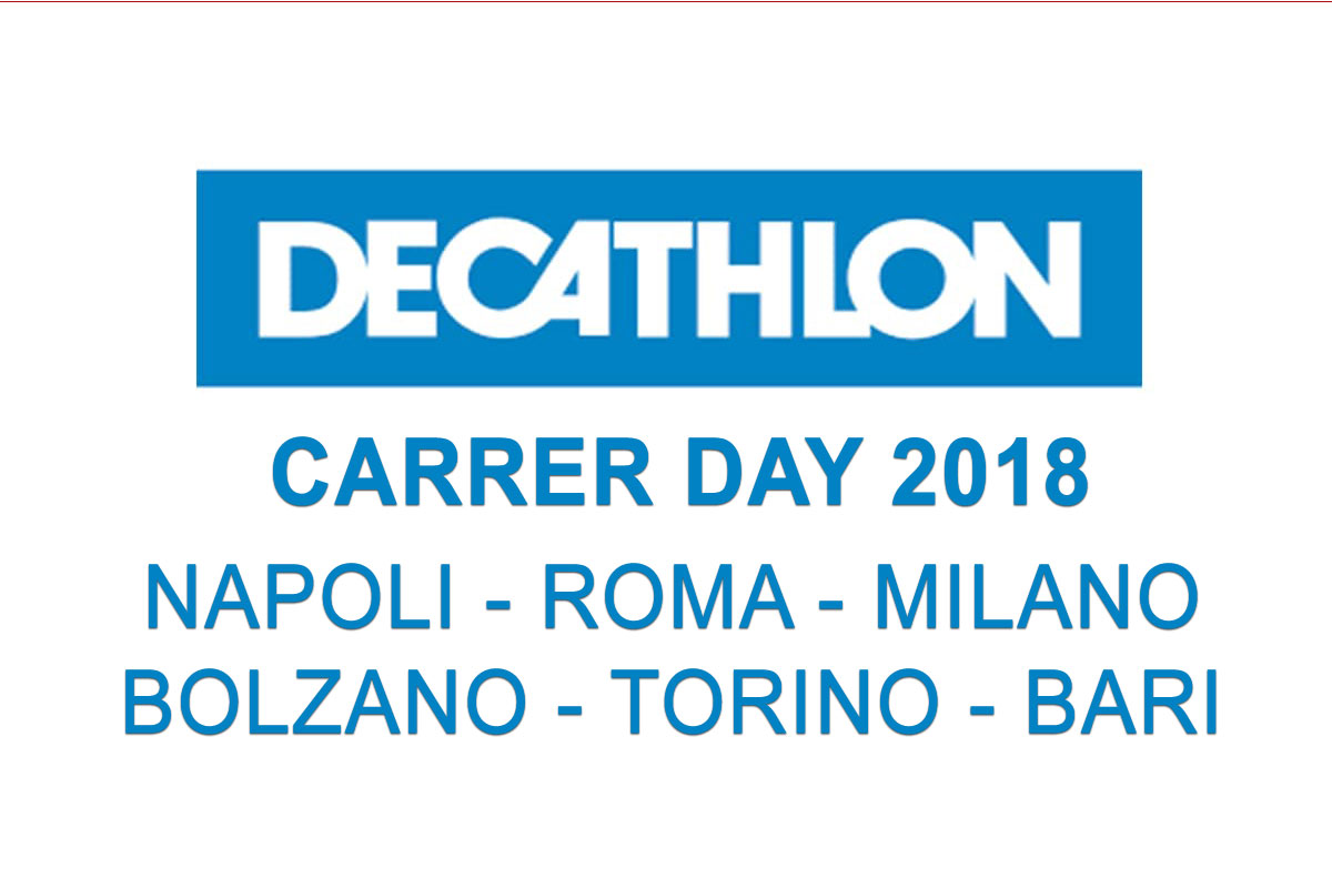 DECATHLON: CARRER DAY 2018