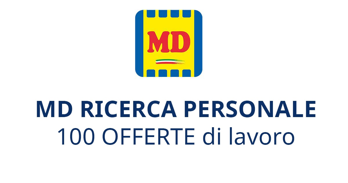 MD RICERCA PERSONALE