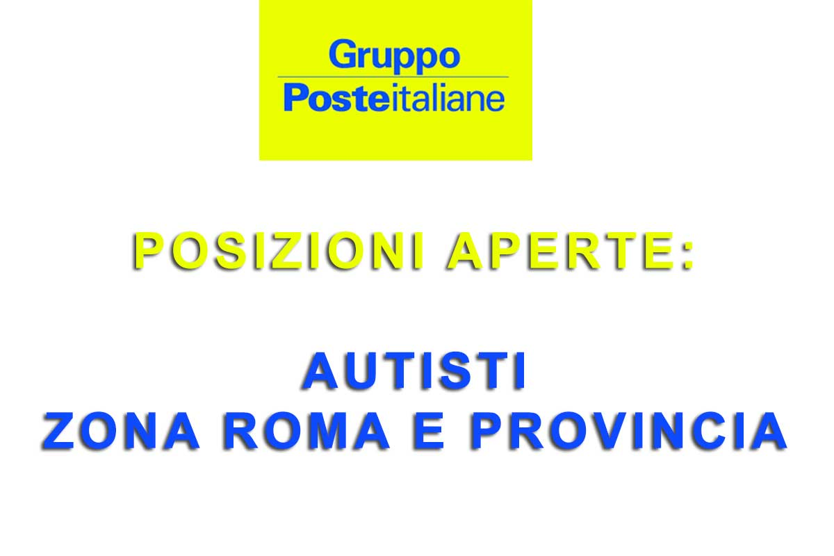 POSTE ITALIANE ASSUME AUTISTI