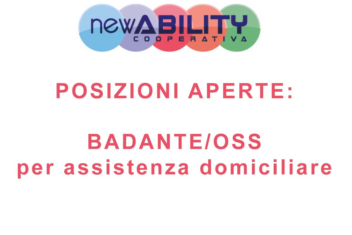 COOPERATIVA NEW ABILITY RICERCA OSS