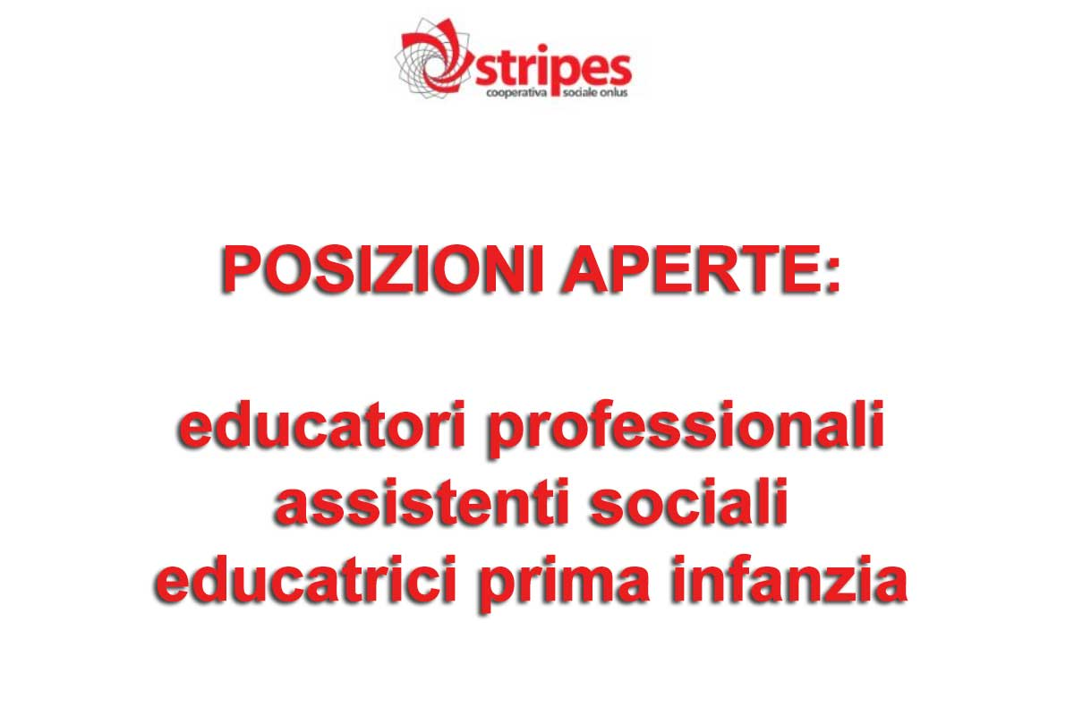 STRIPES RICERCA educatori professionali ed assistenti sociali