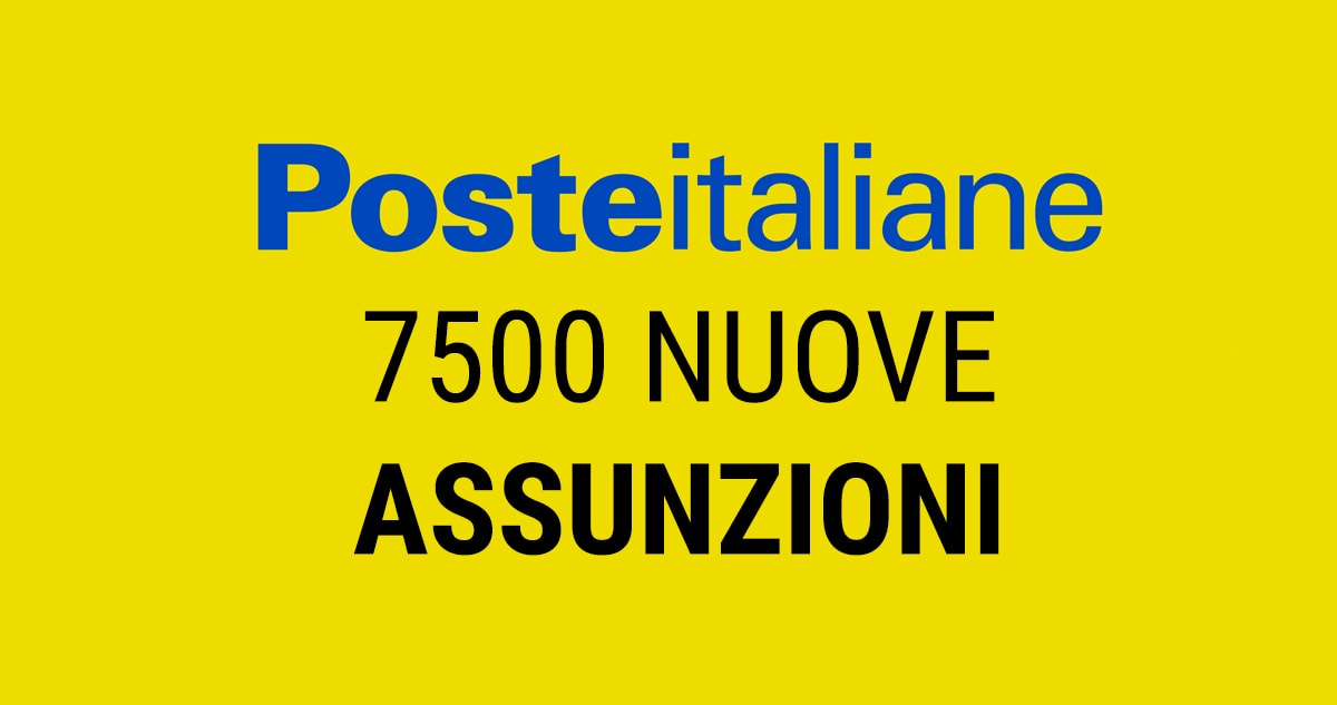 Poste Italiane Lavora Con Noi Entro Il 2019 Assumera 7 500