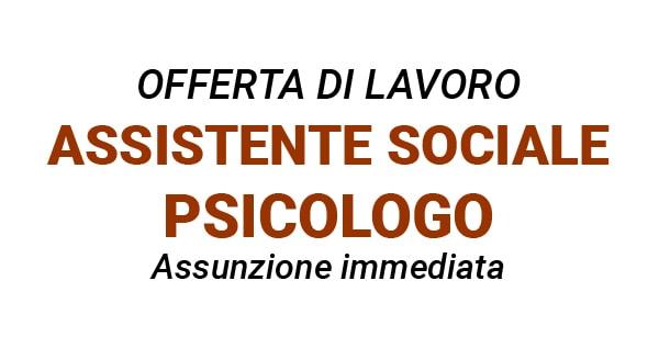 lavoro psicologo sociale