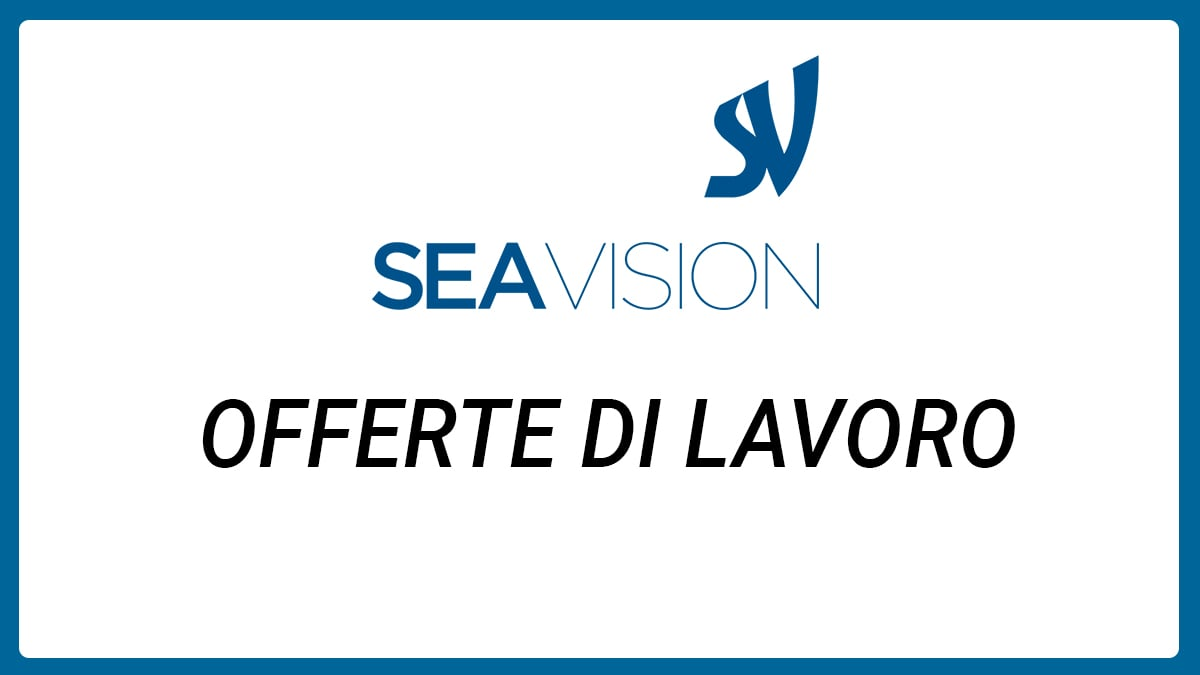 Opportunità per laureati in Sea Vision