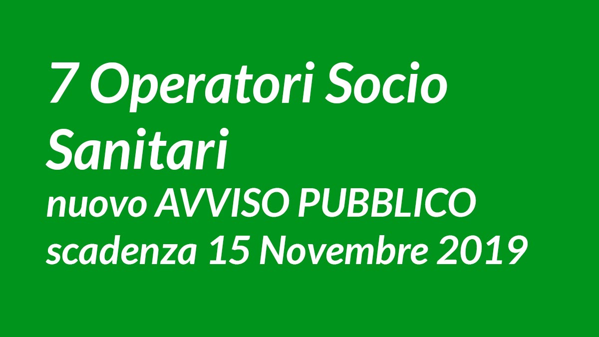 7 OSS avviso pubblico IPARK srl Vicenza