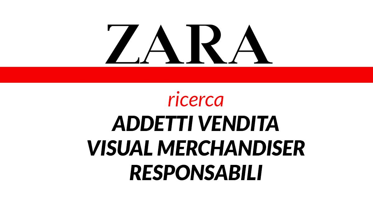 ZARA assunzioni 2019 lavora con noi WorkISJob