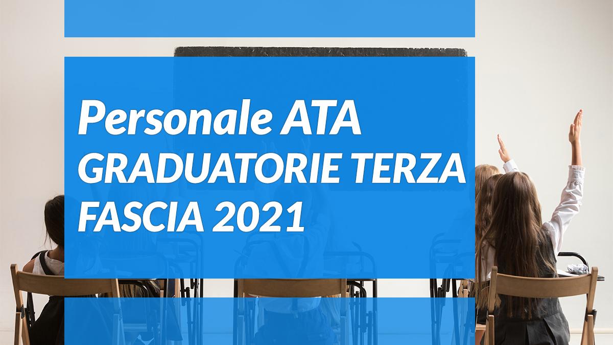 PERSONALE ATA FAQ AGGIORNAMENTO GRADUATORIE TERZA FASCIA ...