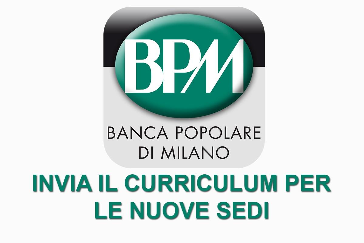 Bpm Banca Di Milano Invia Il Tuo Curriculum Workisjob