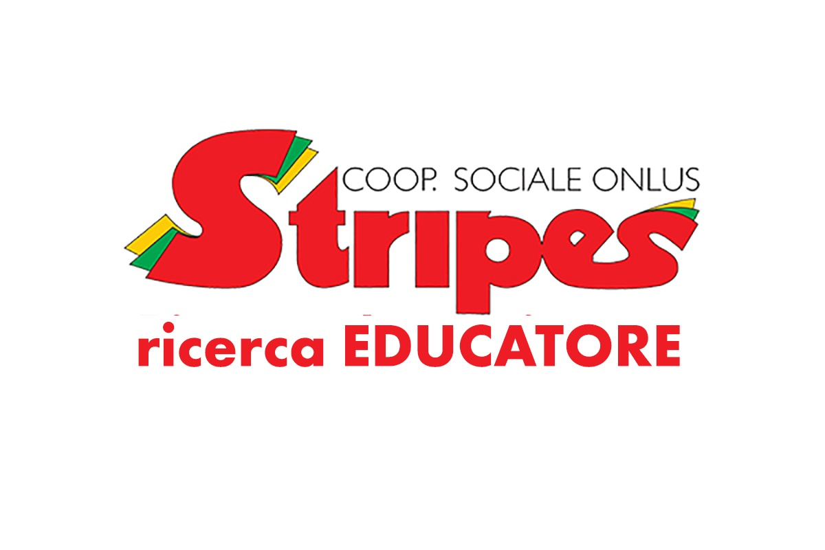 Stripes, cooperativa sociale, ricerca EDUCATORI 2020