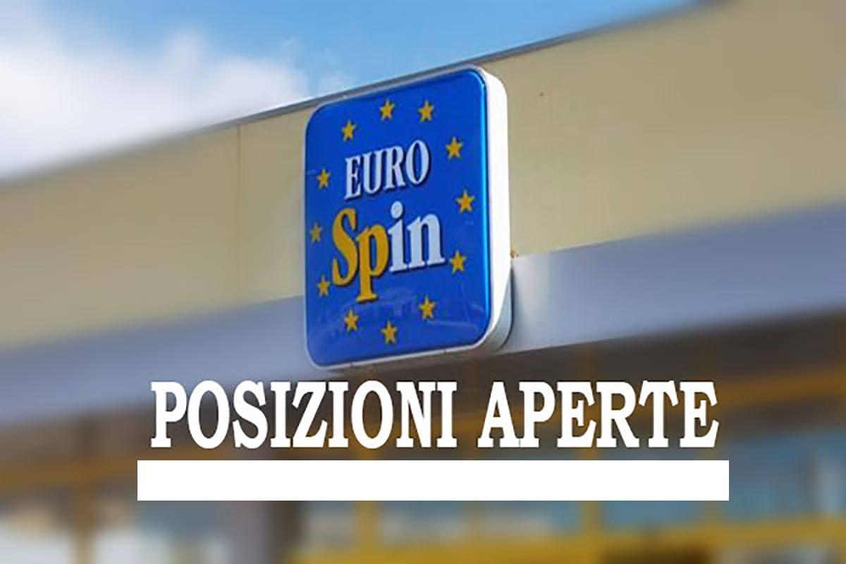 EUROSPIN, Posizioni Aperte