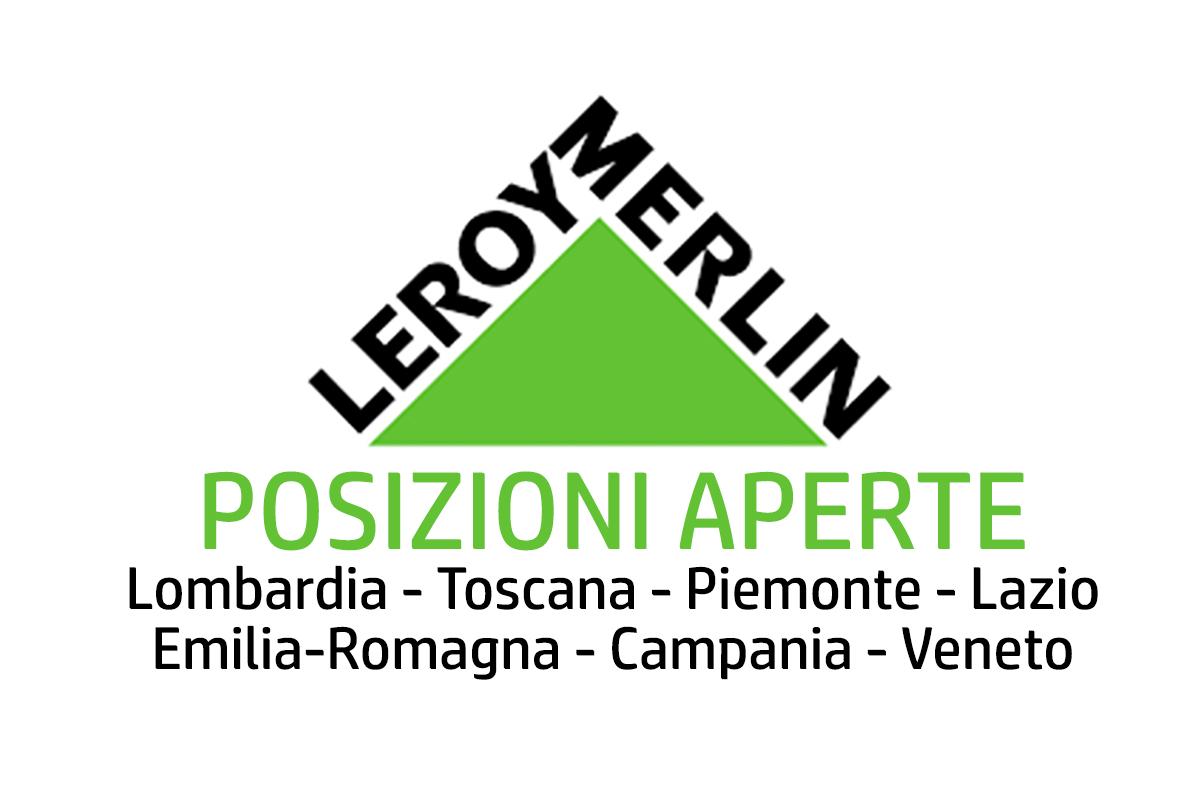 Leroy merlin posizioni aperte workisjob for Leroy merlin sardegna