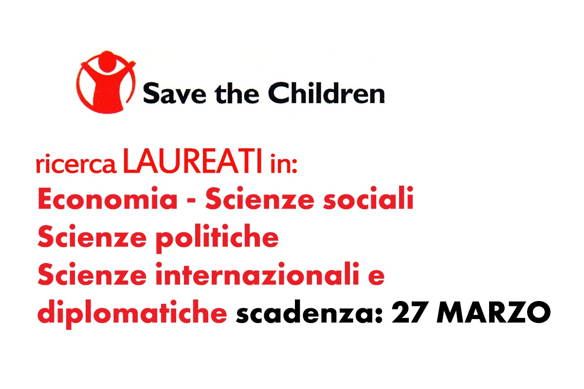 Lavoro in Save the Children